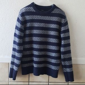 J. Crew men's 100% lambswool sweater  medium